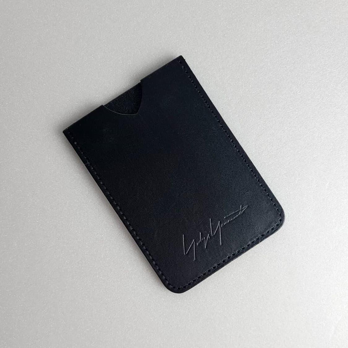 요지 야마모토 - 시그니처 로고 카드포켓