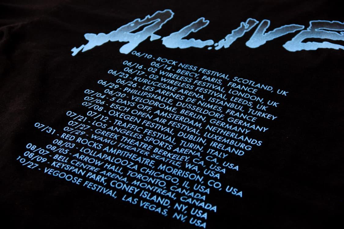 American Apparel - Daft Punk Concert T-shirts