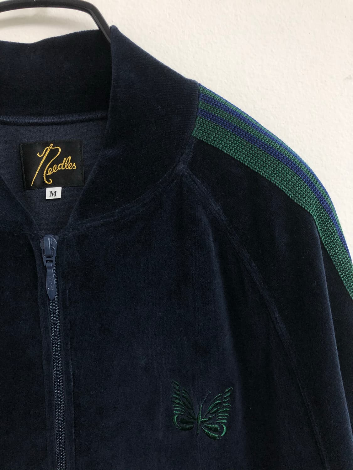 Needles Velour Track Jacket