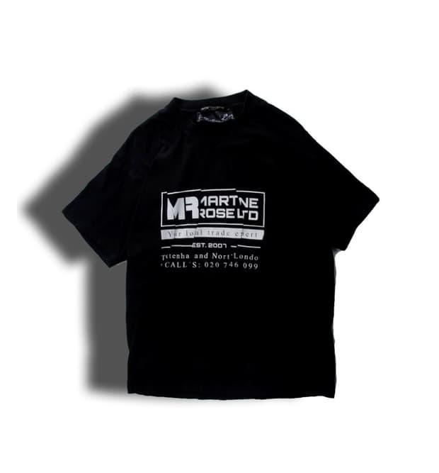 마틴로즈 19SS wobble 티셔츠