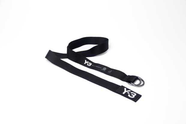 Y3 - D-Ring Logo Belt