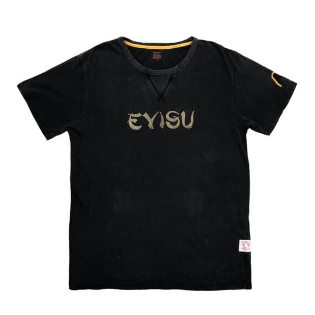 에비수 빈티지 워싱 티셔츠