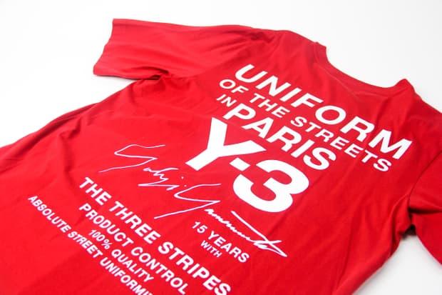 Y-3 - Paris Store Uniform T-shirt