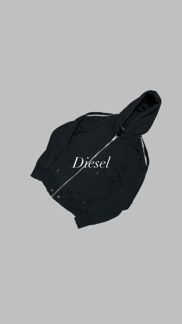 Diesel Multi Zipper Hoodie