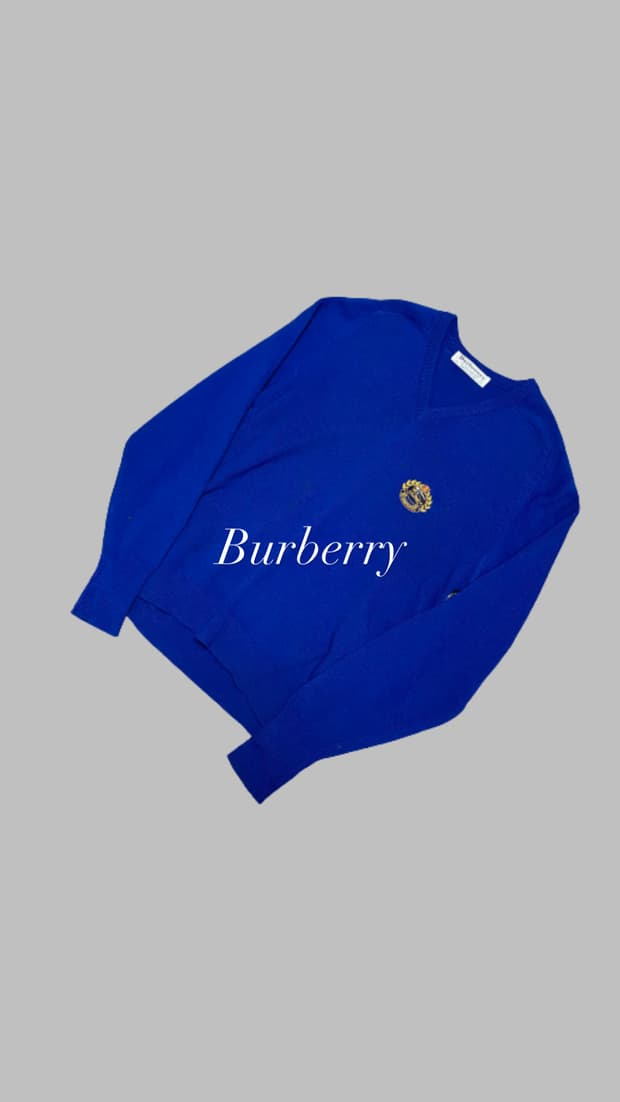 Burberry Archive Logo Knit