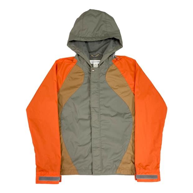 CDG color block jacket