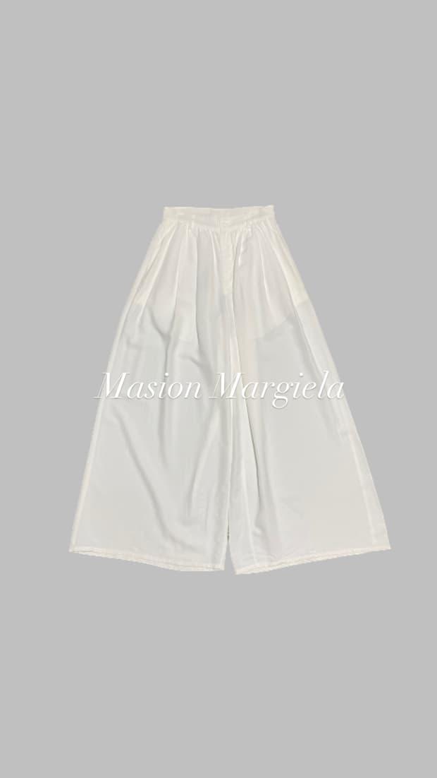 MM6 Wide Pants