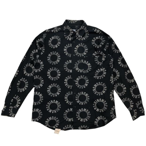 [L]모스키노 레터링 패턴 셔츠