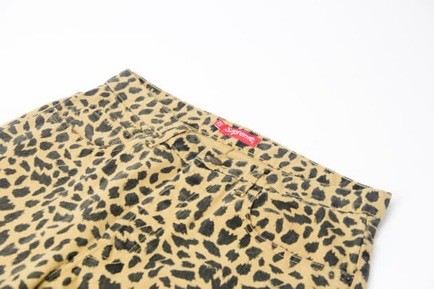 Supreme - Leopard Jeans