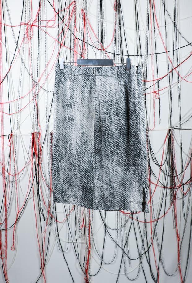 Margiela silk skirt