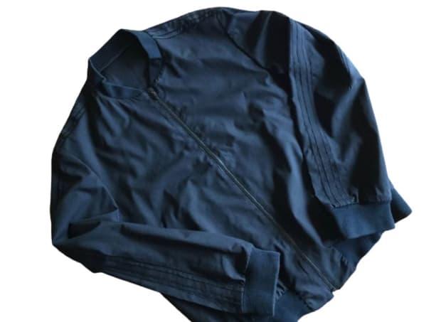 넘버나인 - 01SS 하이브리드 울 블루종 자켓