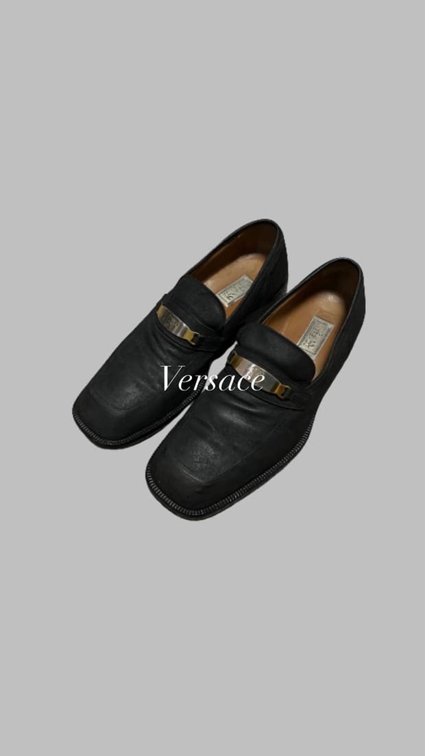 Versace Chain Derby Shoes