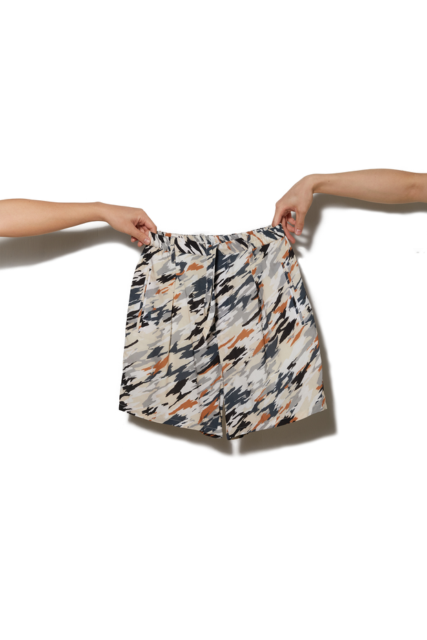 Lemaire Patterned Shorts