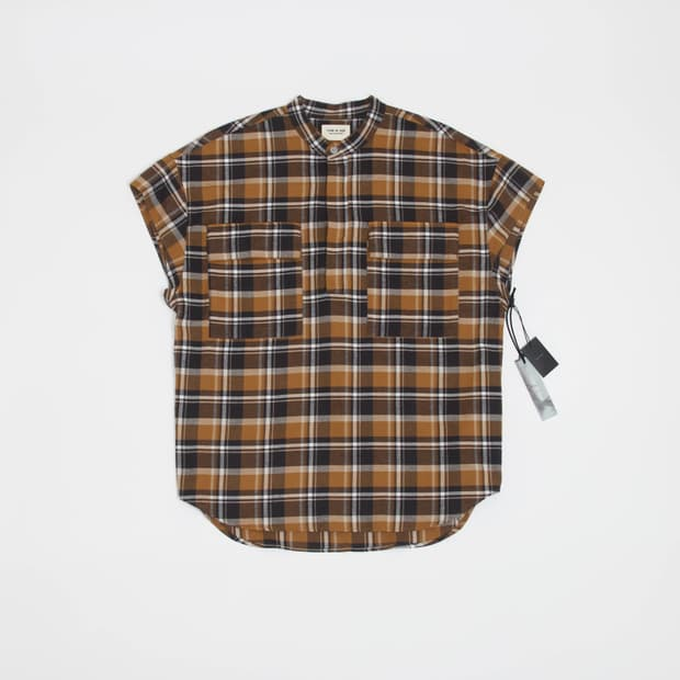 Fear of God - Oversized Checked Half-Placket Shirt