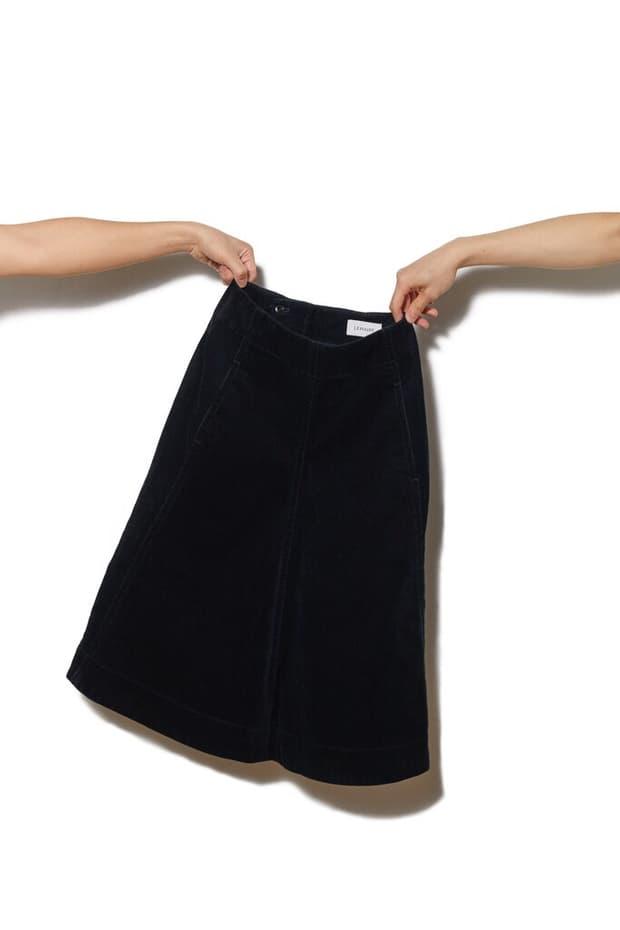 Lemaire Corduroy Skirt