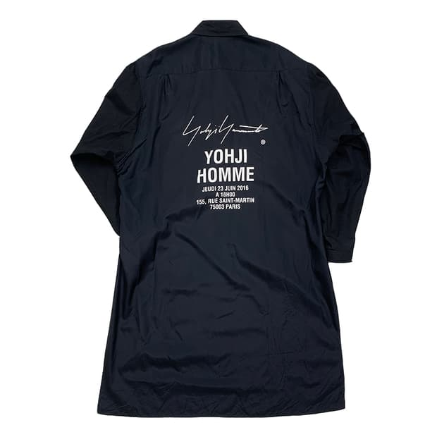 Yohji Yamamoto Staff Shirt
